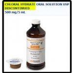 Cloral hydrat