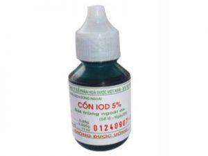 cồn iod 5%