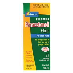 Elixir paracetamol