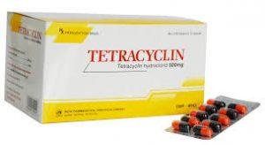 viên nang tetracyclin hydroclorid