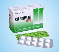 viên nén vitamin B1