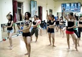 Tập khiêu vũ