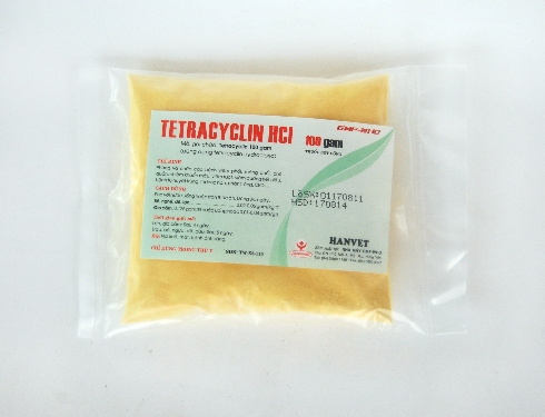 Bột tetracyclin