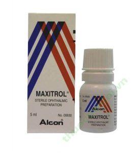 Thuốc nhỏ mắt maxitrol
