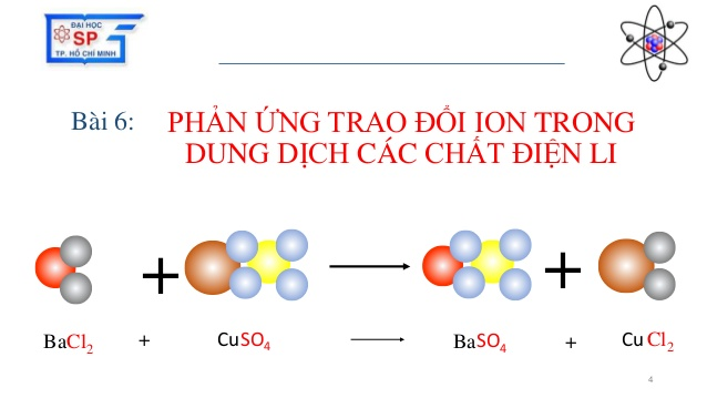 Phản ứng trao đổi ion