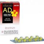 viên nang vitamin AD