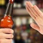 Tránh uống rượu