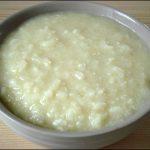 Cháo sữa đậu nành